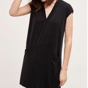 Anthropologie Dolan Tunic Lola Cocoon Dress Black